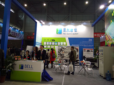 Forty-seventh 20160427 session of the national higher education equipment exhibition in Hefei